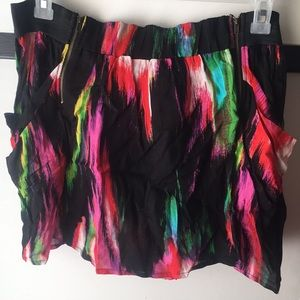 Multicolored Mini Skirt